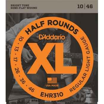 D´addario EHR310 - 1/2Rounds Cuerdas para Guitarra Eléctrica